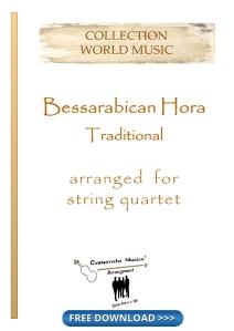 Bessarabican Hora for string quartet
