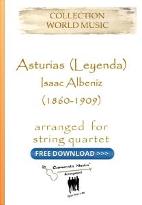 Asturias Leyenda for string quartet
