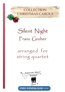 Silent Night-string quartet